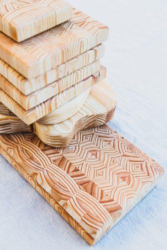 Tábuas de madeira
