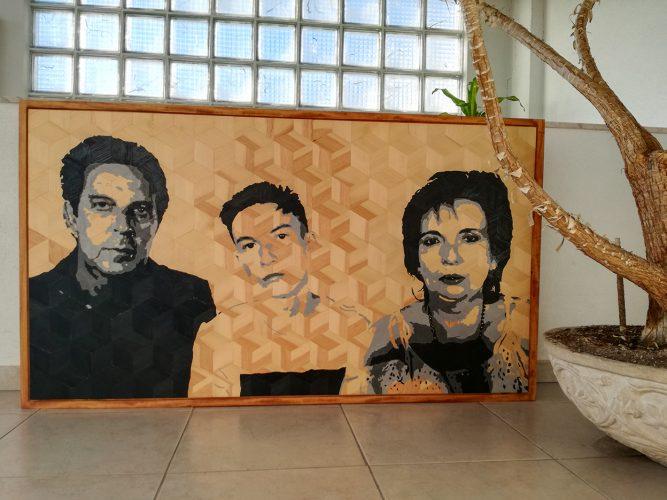 Retrato Familia Leonel
